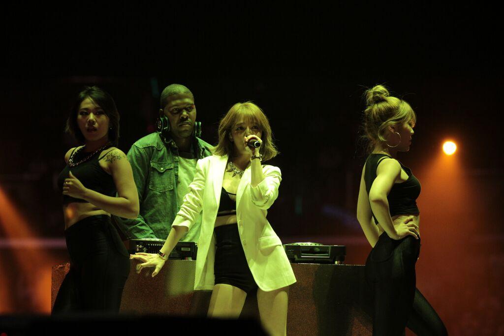 jimin aoa kcon 2015 la los angeles special stage collaboration puss unpretty rapstar