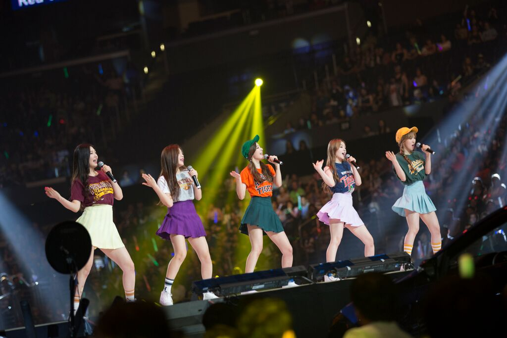 red velvet kcon 2015 la los angeles