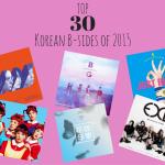 Top 30 Korean B-Sides of 2015