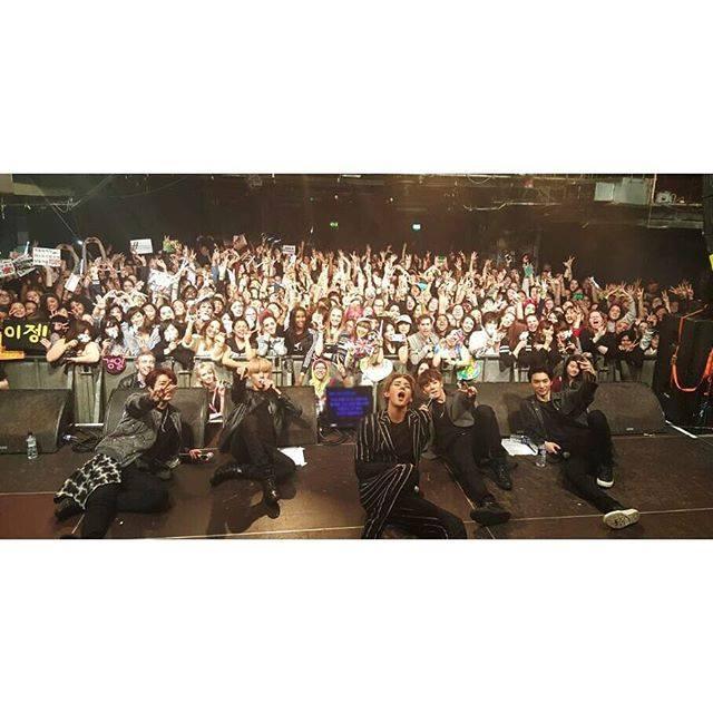 kpop group history in london concert korean k pop