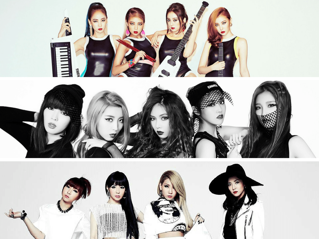 kpop girl groups 4minite disbanding break up 2ne1