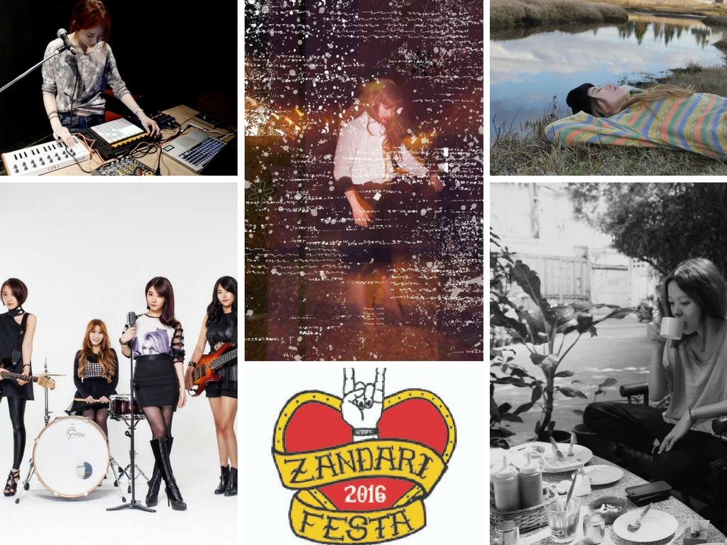 Zandari Festa 2016 Female Musicians Spotlight