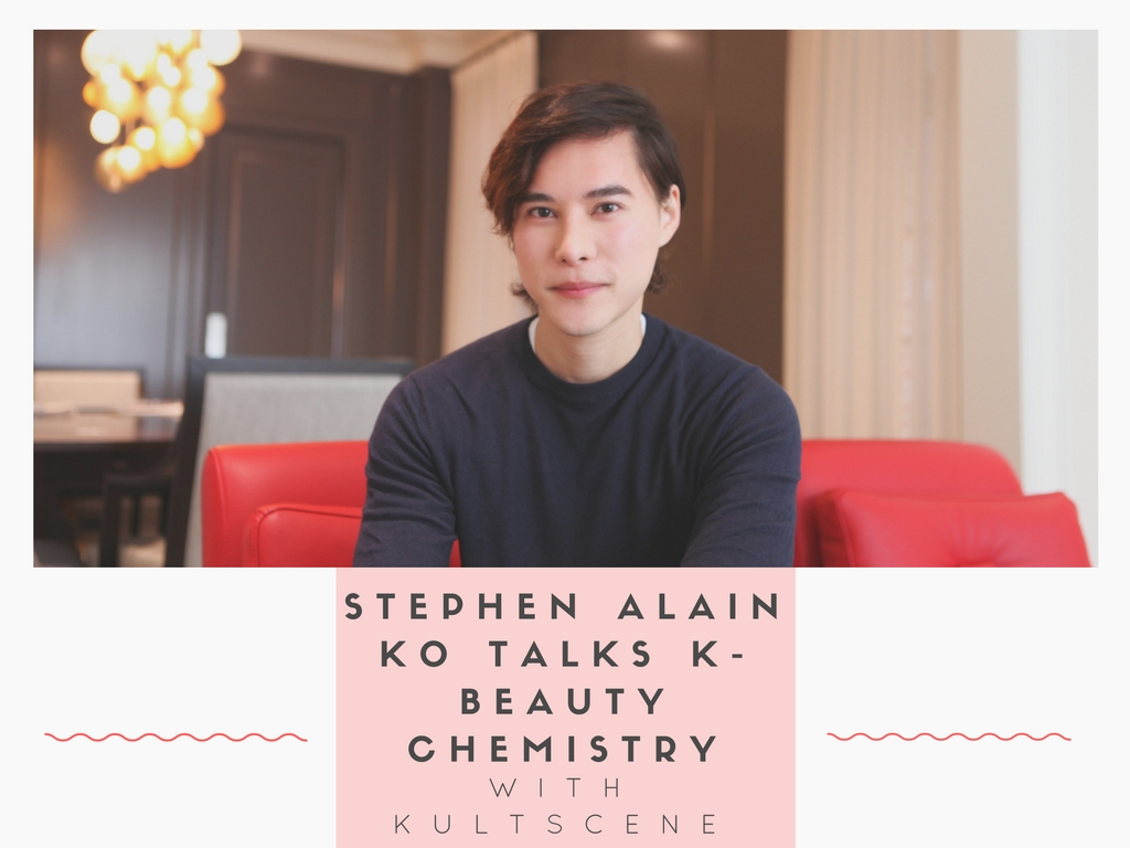Stephen Alain Ko Talks K-Beauty Chemistry