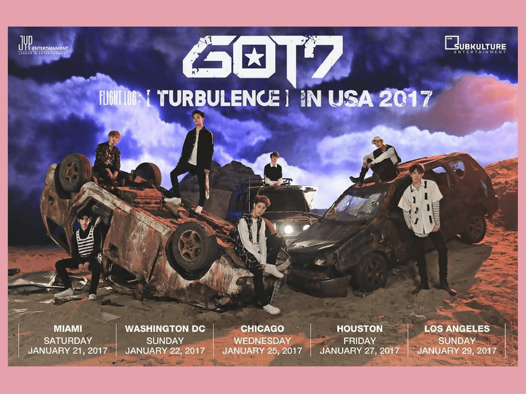 got7 turbulence in usa tour fanmeet fan meeting
