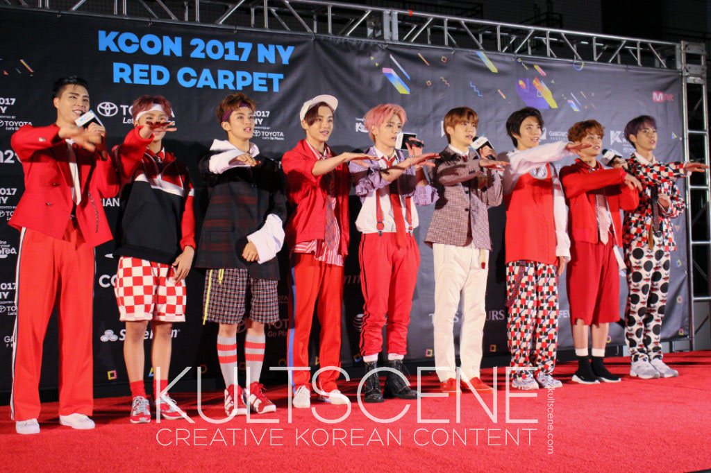 nct127 nct 127 red carpet kcon new york 2017 17 ny kcon17ny kcon2017ny