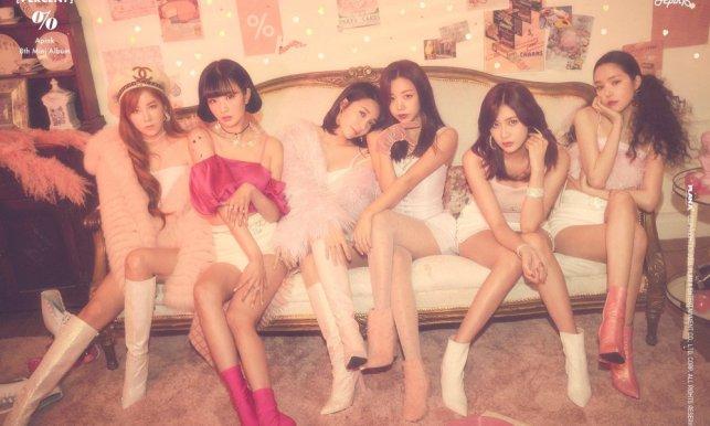 Apink 'Percent' album teaser
