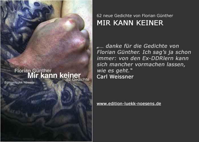 Florian Günther: Mir kann keiner