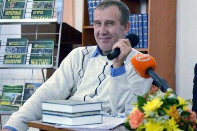 Творческая встреча с писателем-земляком Владимиром Топилиным…