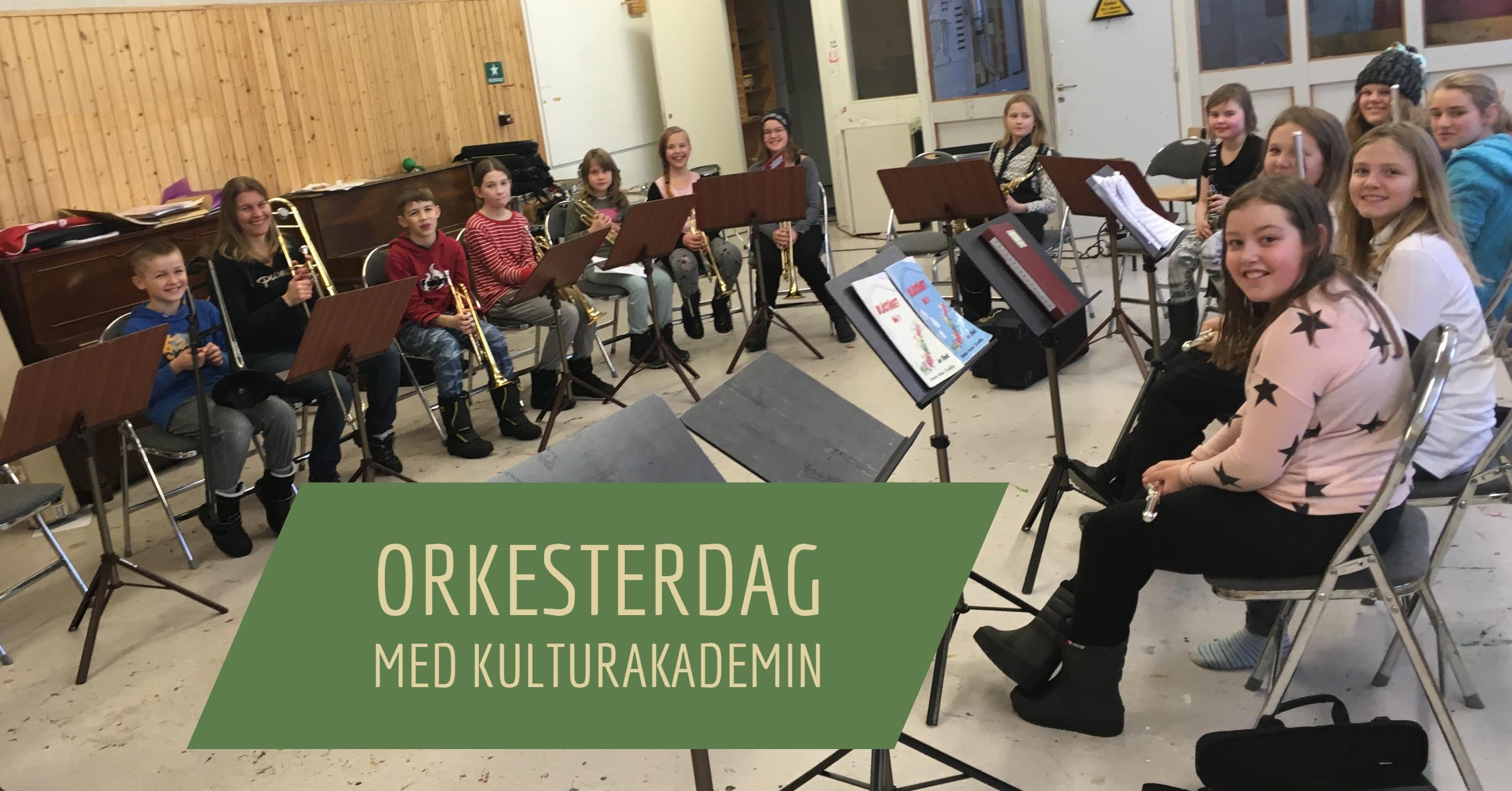 Orkesterdag 22/11 2016