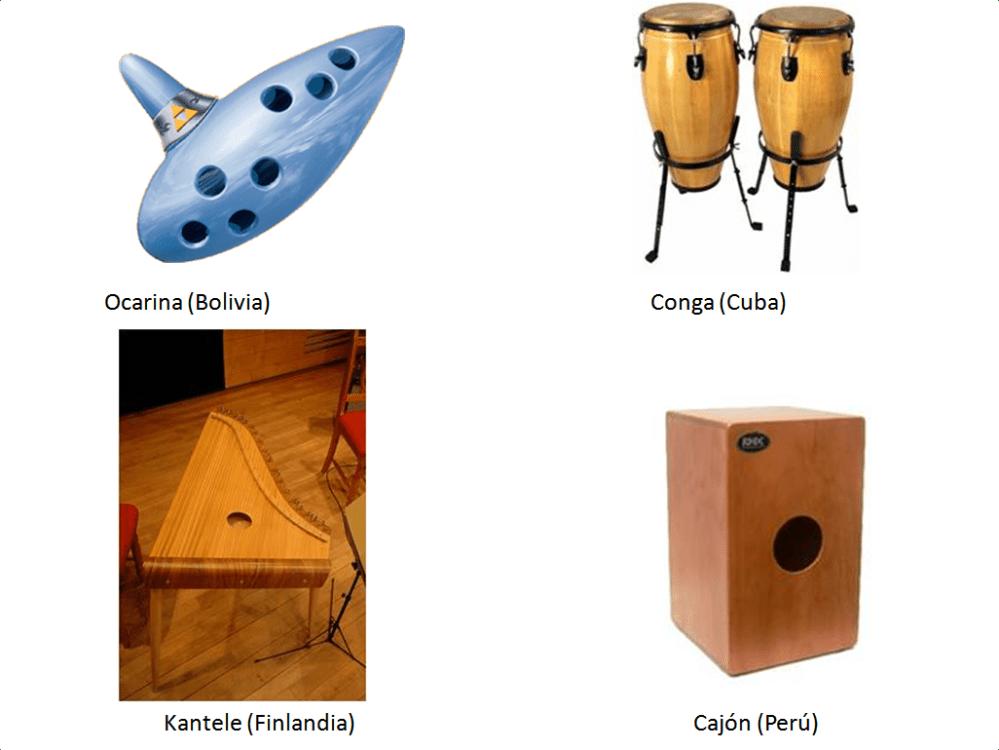 INSTRUMENTOS MUSICALES DEL MUNDO (1/5)