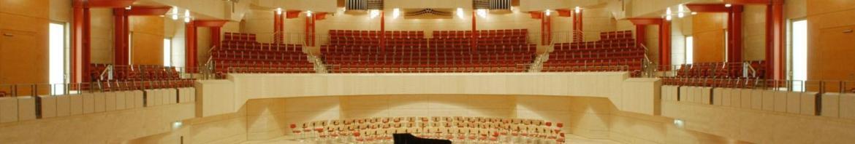 Alfried Krupp Saal der Philharmonis Essen