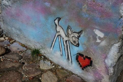 Streetart in Riga 2016.