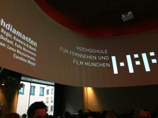Empfang meiner ehemaligen Hochschule, der Hochschule für Fernsehen und Film München, in der Nähe des Potsdamer Platzes. Was für eine tolle Gelegenheit für ein Wiedersehen mit sehr netten und spannenden Menschen!