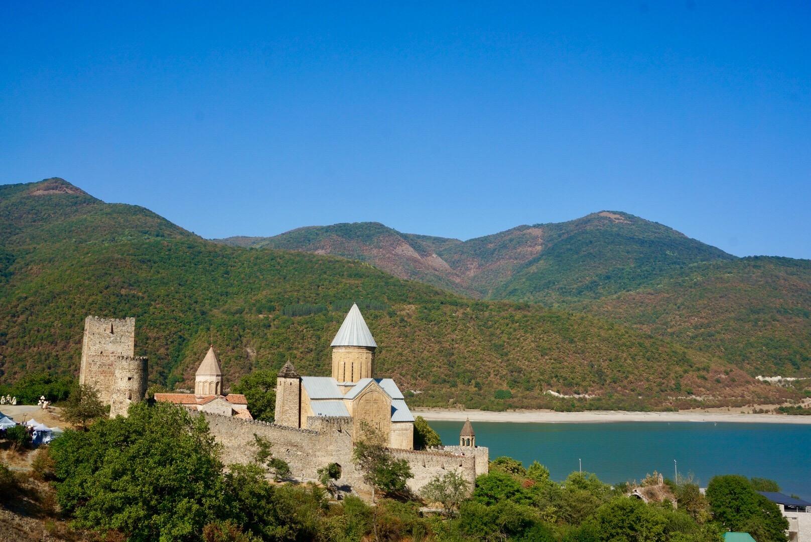 Die Dschwari-Kirche aus dem 6. Jahrhundert