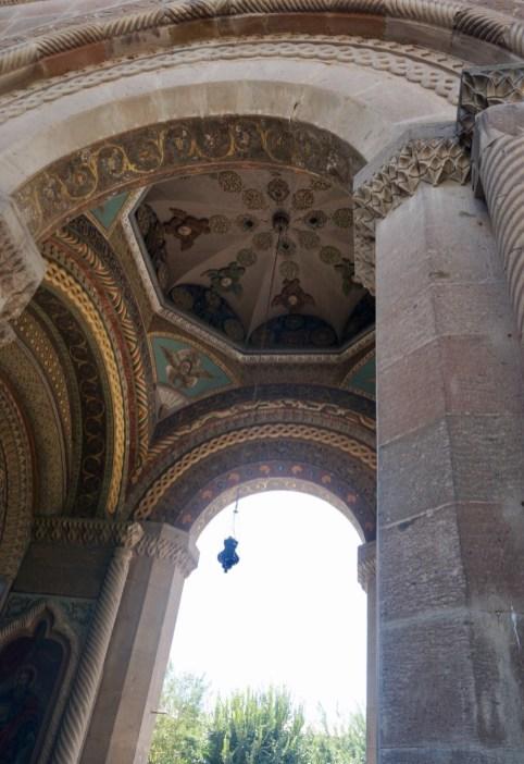 """Das Kloster Etschmiadsin mit der """"Muttergotteskirche des heiligen Etschmiadsin"""""""