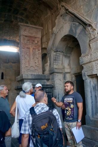 Aram mit unserer Reisegruppe