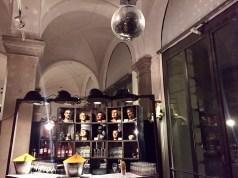 Blogger-Preview im Literaturhaus München: Die wunderbare Panoptikum-Festivalbar wurde im Rahmen des Literaturfest München im November 2017 eingerichtet