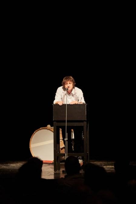 Der Regisseur Aureliusz Śmigiel hielt eine bewegende Rede auf Mathilde Bundschuh ©Judith Buss