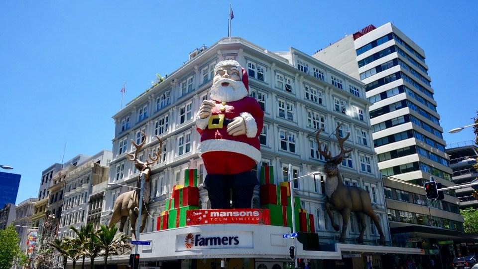 Frohe Weihnachten Flugzeug.Adventsgefluster 19 Frohe Weihnachten Aus Auckland Die
