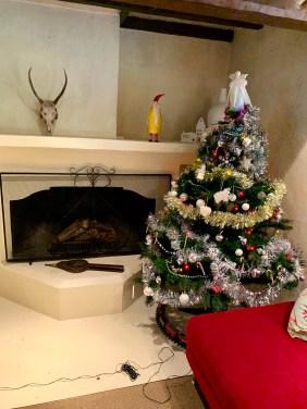 The Christmas tree at Tora :)