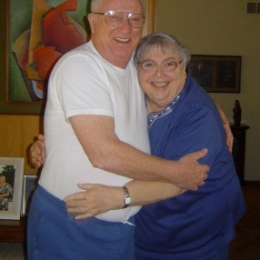 Arthur und Trudie in ihrem Haus 2008 © Lilly Maier