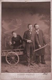 Bekannte Fotografie mit Lou Salomè, Freidrich Nietzsche und Paul Ree