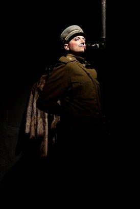 Alexander Braunshör als Genosse Stalin