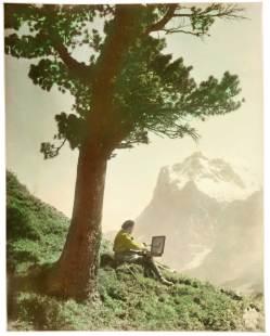 Alpentragödie von 1927 mit Robert Lang