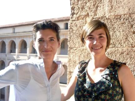 Pia Leydolt-Fuchs und Carina Kurta von CaP.CULT c) Amandine Car
