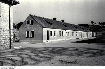 SS-Kaserne im Kz Gusen © Bundesarchiv