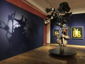 Ines Doujak im Lepold Museum