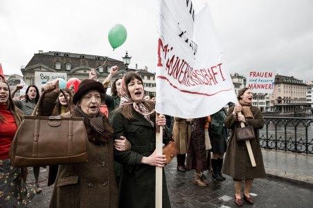 Frauendemo in Zürich © Alamode Film