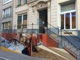 Aufgang zur Galerie Nathalie Halgand (ehemals inoperable)