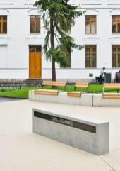 Denkmal Verfolgung, Widerstand und Freiheitskampf in Hernals 1933–1945 von Maria Anwander, Ruben Aubrecht © Iris Ranzinger, KÖR GmbH