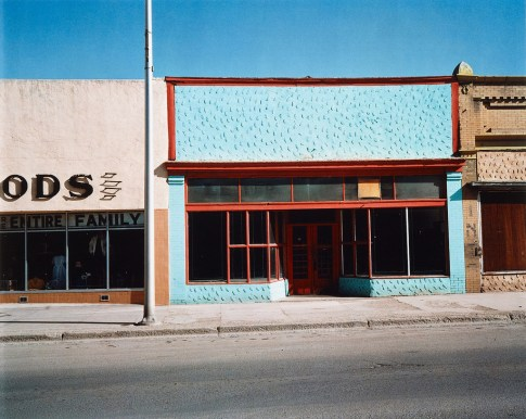 "Win Wenders Untitled, from the series ""Written in the West"", New Mexico, 1983 © Wim Wenders Courtesy Ostlicht, Galerie für Fotografie"