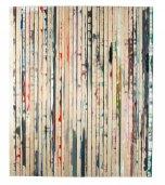 Dejan Dukic, Storage Painting Nr. 10, 2011, Mischtechnik auf Leinwand, 200 x 169 cm © MUSA