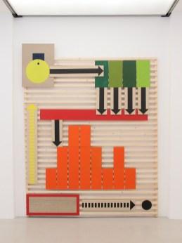 Kirsten Borchert, Prozessor, 2014, Acryl, Holz © MUSA