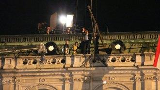 """Dreharbeiten zu """"Mission Impossible - Rogue Nation"""" © Vienna Film Commission"""
