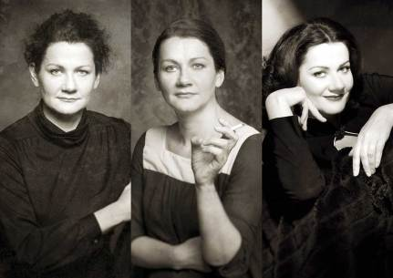 Portraittheater: Anita Zieher als Curie_Meitner_Lamarr_unteilbar © Reinhard Werner
