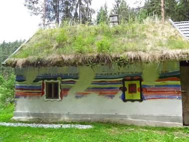 """Hundertwasser Atelier in der """"Hahnsäge"""""""