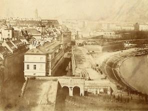 Das Wien der Basteien Foto/Salzpapierabzug, 1858