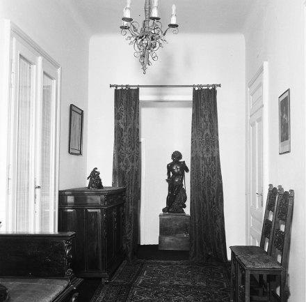 Leere jüdische Wohnung, Foto Robert Haas, Wien Museum