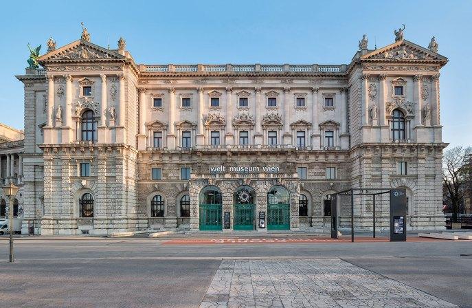 Außenansicht Weltmuseum Wien Copyright: KHM-Museumsverband
