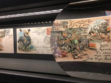 Sammlung alter Postkarten