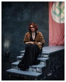 """Tamara Stern in """"Ich Zarah"""" auf der Bühne des Off Theaters © Walter Mussil"""