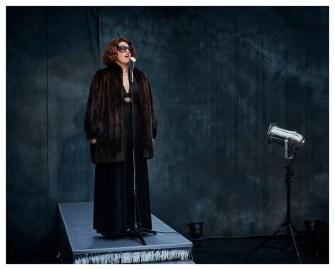 Tamara Stern als Zarah Leander © Walter Mussil