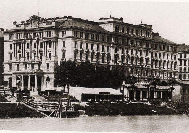 Das ehemaligen Hotel Métropole am Morzinplatz diente dem Schriftsteller als erstes Quartier in Wien