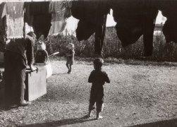 In einem Salzburger Flüchtlingslager 1948 © Sammlung Julius Hummel Wien