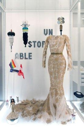 Kleid von Conchita Wurst vom Song Contest Auftritt © Herta Hurnaus