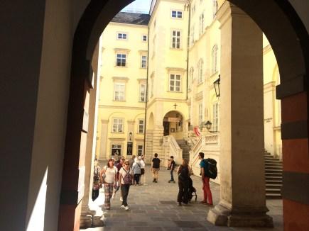 Führung im alten Trakt der Hofburg